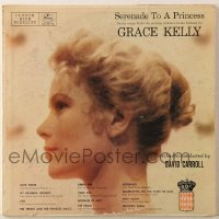 7y018 GRACE KELLY 33 1/3 RPM compilation record 1956 Serenade to a Princess, songs from her movies!