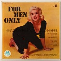 7y026 JAYNE MANSFIELD 33 1/3 RPM record 1957 pictured on the cover of Lew Raymond's For Men Only!