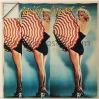 7y001 GENTLEMEN PREFER BLONDES 33 1/3 RPM soundtrack Italian record 1978 Marilyn Monroe movie music!