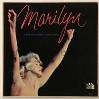 7y032 MARILYN 33 1/3 RPM soundtrack record 1963 from the original motion picture!