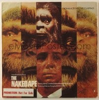 7y039 NAKED APE 33 1/3 RPM soundtrack record 1973 Playboy, original music from the movie!