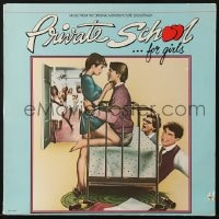 7y040 PRIVATE SCHOOL 33 1/3 RPM soundtrack record 1983 music from the original motion picture!