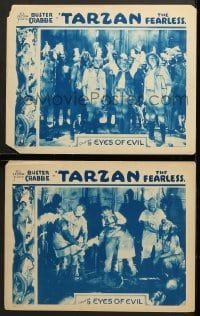 7z959 TARZAN THE FEARLESS 2 chapter 9 LCs 1933 Sol Lesser serial, Buster Crabbe, Eyes of Evil!