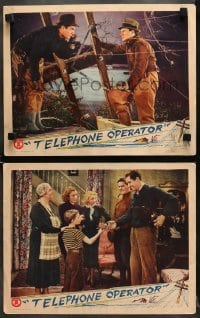 7z960 TELEPHONE OPERATOR 2 LCs 1937 disaster struck at the happiness of these two lovers!