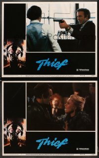 7z964 THIEF 2 LCs 1981 great images of James Caan, directed by Michael Mann!