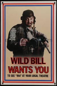 8a008 1941 teaser 1sh 1979 Steven Spielberg, John Belushi as Wild Bill wants you!