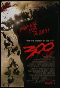 8a010 300 advance 1sh 2007 Zack Snyder directed, Gerard Butler, prepare for glory!