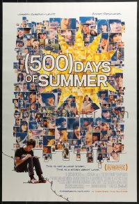 8a018 500 DAYS OF SUMMER advance DS 1sh 2009 Joseph Gordon-Levitt, sexy Zooey Deschanel!