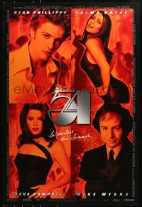 8a019 54 advance DS 1sh 1998 Ryan Phillipe, Salma Hayek, Neve Campbell, Mike Myers as Rubell!