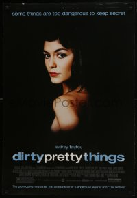 8a253 DIRTY PRETTY THINGS DS 1sh 2002 directed by Stephen Frears, sexy image of Audrey Tautou!