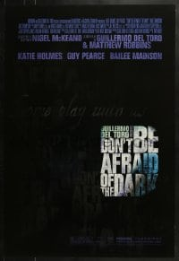 8a262 DON'T BE AFRAID OF THE DARK DS 1sh 2010 Katie Holmes, Guy Pearce!