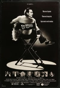 8a275 ED WOOD DS 1sh 1994 Tim Burton, Johnny Depp in the title role, Sarah Jessica Parker!