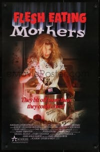 8a321 FLESH EATING MOTHERS 25x38 1sh 1988 wacky horror, they bit off more than they could chew!