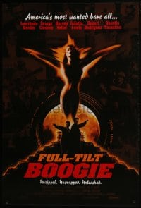 8a338 FULL-TILT BOOGIE 1sh 1997 the making of From Dusk Till Dawn, really cool image!