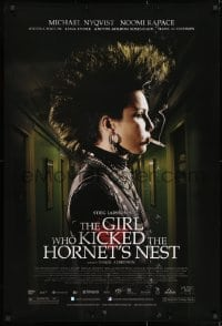 8a345 GIRL WHO KICKED THE HORNET'S NEST DS 1sh 2010 Luftslottet som sprangdes, Noomi Rapace!