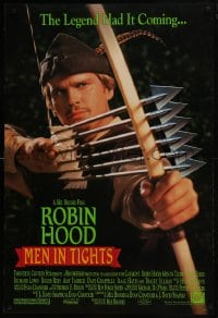 8a732 ROBIN HOOD: MEN IN TIGHTS DS 1sh 1993 Mel Brooks directed, Cary Elwes in the title role!
