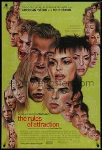 8a747 RULES OF ATTRACTION 1sh 2002 James Van Der Beek, Shannyn Sossamon, Jessica Biel, many faces!