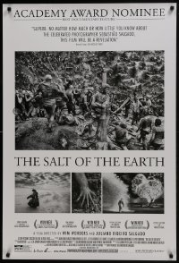 8a750 SALT OF THE EARTH 1sh 2014 directed by Juilano Ribeiro Salgado & Wim Wenders!