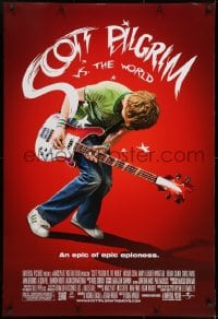 8a758 SCOTT PILGRIM VS. THE WORLD DS 1sh 2010 Michael Cera in an epic of epic epicness!