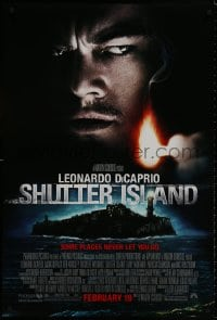 8a777 SHUTTER ISLAND advance DS 1sh 2010 Scorsese, DiCaprio, someone is missing!