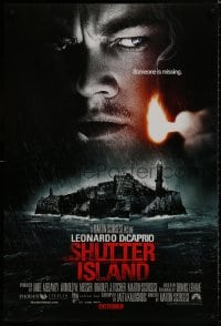 8a776 SHUTTER ISLAND advance DS 1sh 2010 October style, Scorsese, DiCaprio, someone is missing!