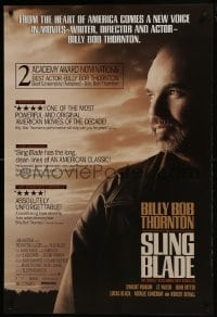 8a796 SLING BLADE 1sh 1996 star & director Billy Bob Thornton, many reviews!