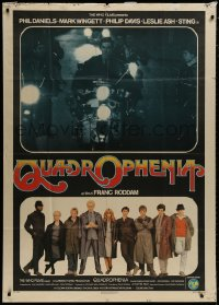 8b278 QUADROPHENIA Italian 1p 1980 The Who & Sting, rock & roll, different image on motorcycle!