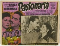8c031 PASIONARIA Spanish/US LC 1952 great images of sexy Meche Barba & Fernando Fernandez!