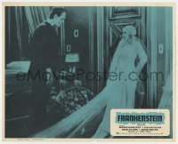 8c024 FRANKENSTEIN Mexican LC R1970s great image of Boris Karloff as the monster, Mae Clarke!