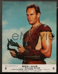 8c036 BEN-HUR 6 French LCs R1970s Charlton Heston, William Wyler classic religious epic!