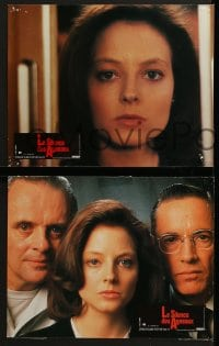 8c033 SILENCE OF THE LAMBS 4 French LCs 1991 Jodie Foster, Anthony Hopkins, Scott Glenn!