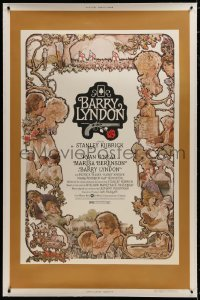 8p017 BARRY LYNDON linen 40x60 1975 directed by Stanley Kubrick, Ryan O'Neal, Charles Gehm art!