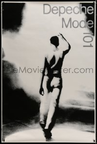 8p003 DEPECHE MODE 101 41x61 English music poster 1988 Music for the Masses at Rose Bowl Stadium!