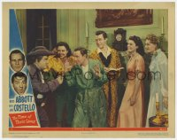 8r012 TIME OF THEIR LIVES LC #3 1946 Colonial ghost Lou Costello pointing gun at Bud Abbott!