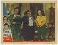 8r013 TIME OF THEIR LIVES LC #4 1946 Bud Abbott with ghosts Marjorie Reynolds & Lou Costello!