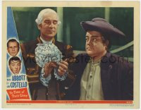 8r016 TIME OF THEIR LIVES LC #5 1946 Lou Costello with Bud Abbott's traitorous ancestor in 1776!