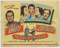 8r009 TIME OF THEIR LIVES TC 1946 Abbott & Costello in something new from Bud and Lou, fantasy!