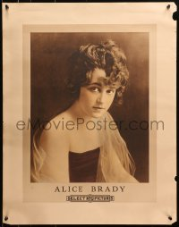 8s029 ALICE BRADY personality poster 1910s great portrait of the pretty Select Pictures actress!