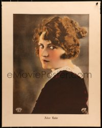 8s030 ALICE LAKE personality poster 1920s head & shoulders portrait of the Metro Pictures actress!