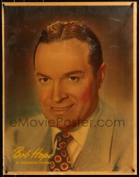 8s036 BOB HOPE English personality poster 1940s great smiling portrait of the Paramount comedian!