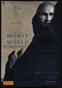 8t039 ALL THE MONEY IN THE WORLD recalled advance DS Aust 1sh 2017 Scott, Kevin Spacey credited!