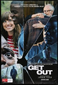 8t043 GET OUT teaser DS Aust 1sh 2017 Daniel Kaluuya, Allison Williams, from the mind of Jordan Peele!