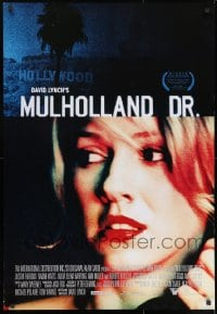8t028 MULHOLLAND DR. Canadian 1sh 2001 David Lynch, close up of sexy Naomi Watts on phone!