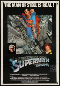 8t012 SUPERMAN South African 1978 Christopher Reeve, Gene Hackman & Brando!