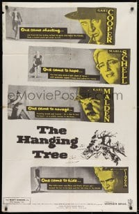 8t007 HANGING TREE Trinidadian 1959 Gary Cooper, Maria Schell & Karl Malden, from the prize novel!