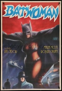 8t030 BATWOMAN Turkish R1980s Maura Monti, great art of sexy superhero by Huseyin!
