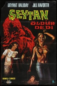 8t034 HORROR ON SNAPE ISLAND Turkish 1972 a night of pleasure becomes a night of terror!