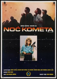 8t009 NIGHT OF THE COMET Yugoslavian 20x28 1984 it was the last thing on Earth they ever expected!