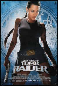 8w500 LARA CROFT TOMB RAIDER advance 1sh 2001 sexy Angelina Jolie, from adventure video game!