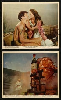 9a046 ATLANTIS THE LOST CONTINENT 12 color 8x10 stills 1961 George Pal, Anthony Hall & Joyce Taylor!